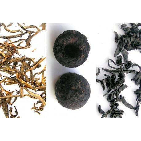 California Tea House black tea sampler