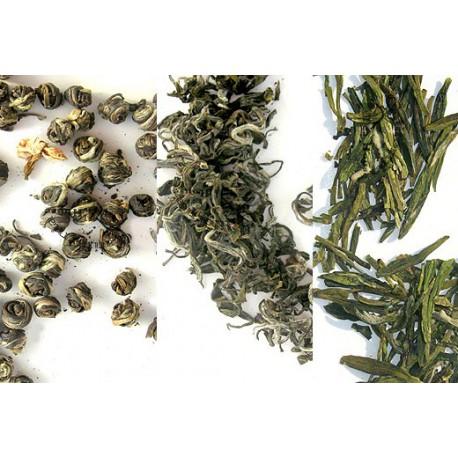 3 Green Tea Flight #greentea