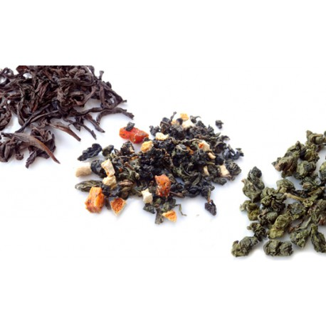 3 Oolong Tea Flight