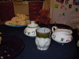 cold weather tea party